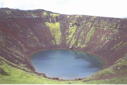 Iceland Volcano Crater