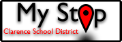 My Stop - Clarence School District Logo