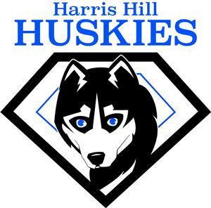 Harris Hill Huskies logo