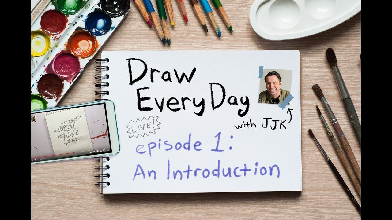 Draw Every Day with JJK